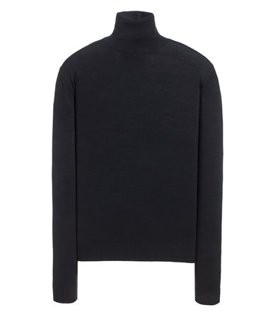 TURTLENECK SWEATER LONG SLEEVE ROYAL SUPERFINE MERINO WOOL