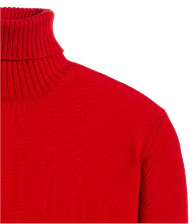 TURTLENECK SWEATER LONG SLEEVE PLAIN