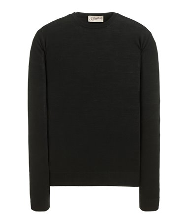 CREWNECK SWEATER LONG SLEEVE ROYAL SUPERFINE MERINO WOOL