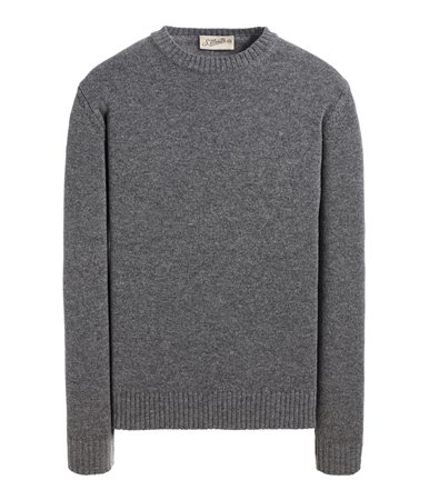 CREWNECK SWEATER LONG SLEEVE PLAIN