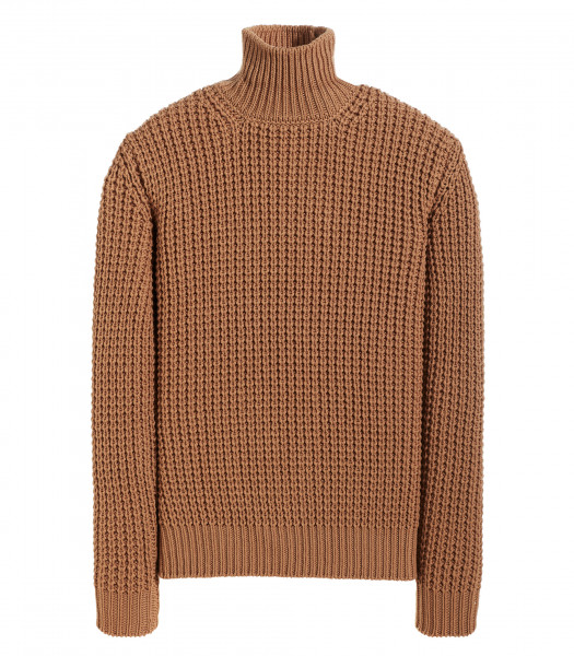 TURTLENECK LONG SLEEVE RIBBED