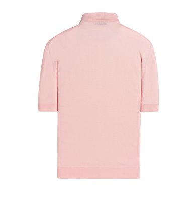 PINK POLO SHORT SLEEVE