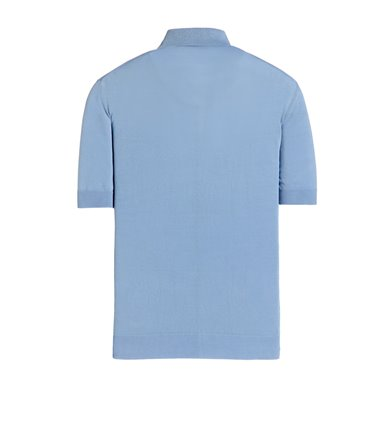LINGHT BLUE  POLO SHORT SLEEVE