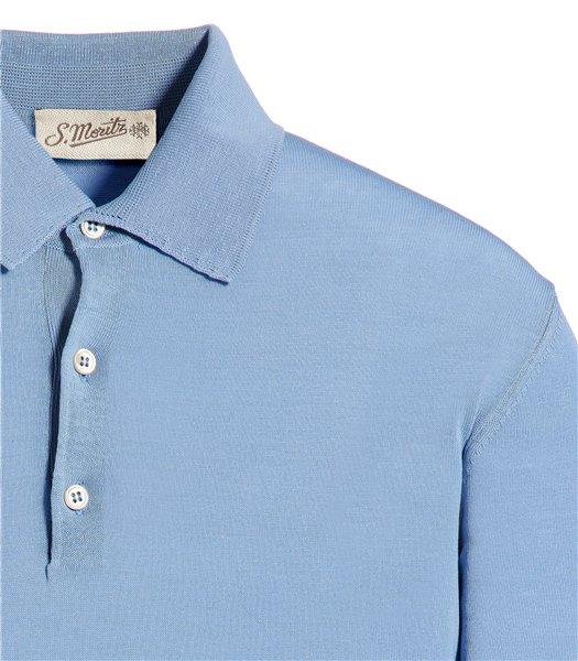 polo-cotone-azzurro-manica-corta