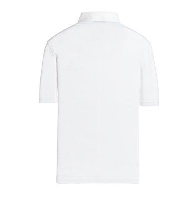 WHITE POLO SHORT SLEEVE JERSEY VINTAGE
