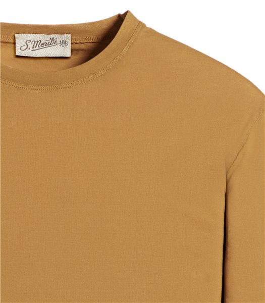 t-shirt-giallo-manica-corta-jersey-crepe