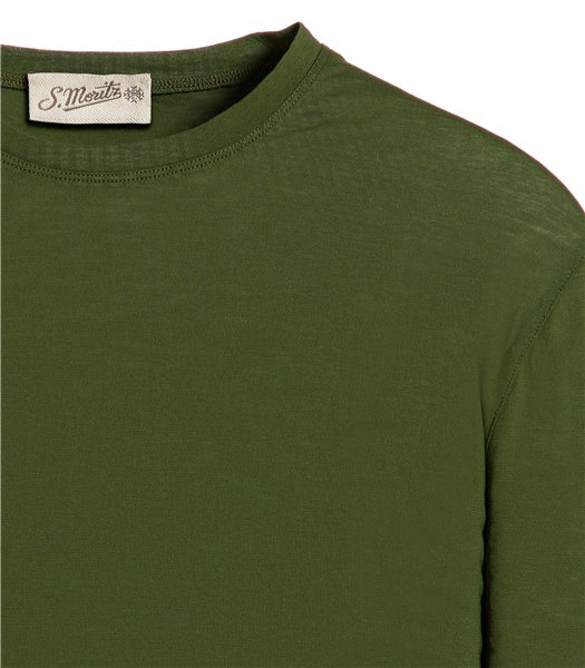 t-shirt-verde-manica-corta-jersey-crepe