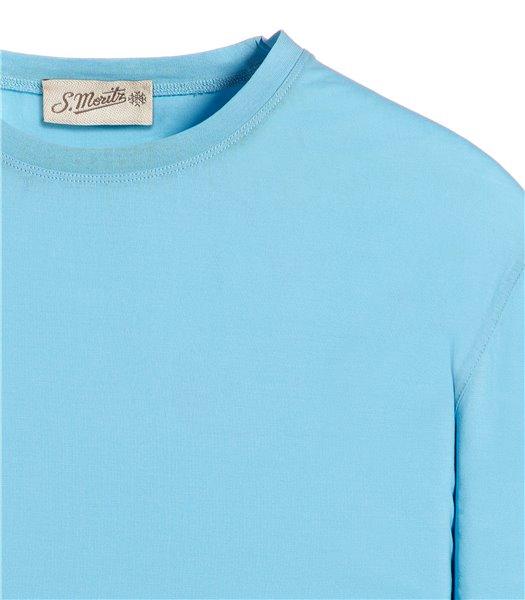 t-shirt-azzurro-manica-corta-jersey-crepe