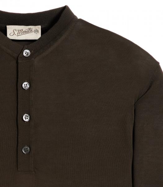 maglia-serafino-grigio-manica-corta-crepe-rasato