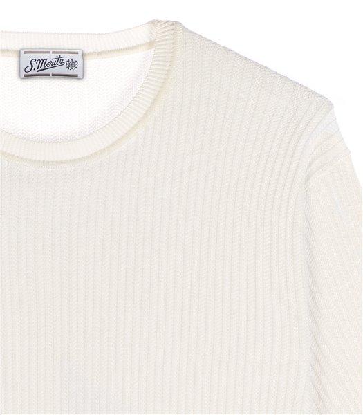maglia-uomo-girocollo-manica-corta-cotone-bianco