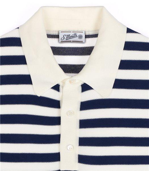 maglia-polo-uomo-manica-corta-cotone-righe-bianco-e-blu