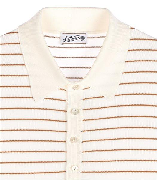 maglia-polo-uomo-manica-corta-cotone-righe-bianco-e-cannella