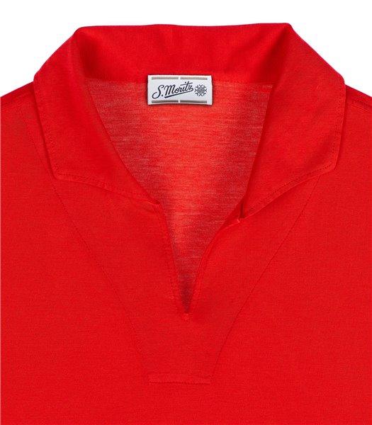 maglia-polo-uomo-manica-corta-cotone-rosso