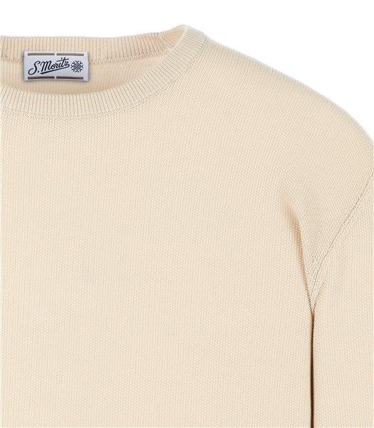 maglia-uomo-girocollo-manica-lunga-cotone-beige