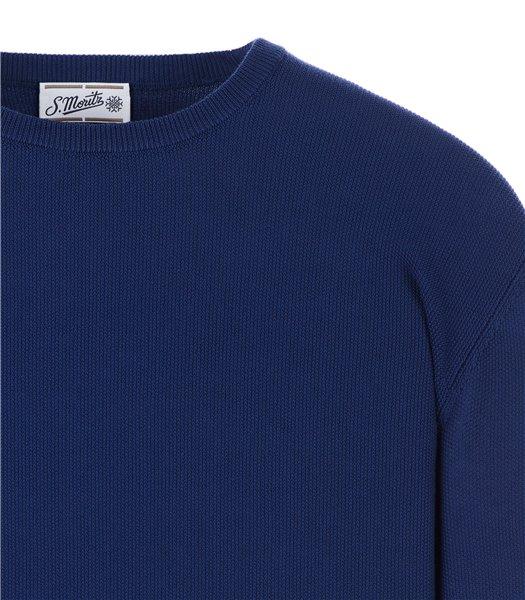 maglia-uomo-girocollo-manica-lunga-cotone-bluette