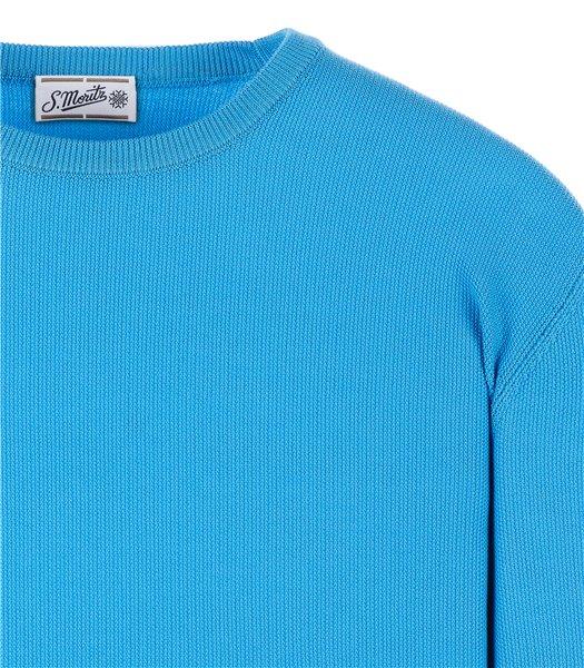 maglia-uomo-girocollo-manica-lunga-cotone-celeste