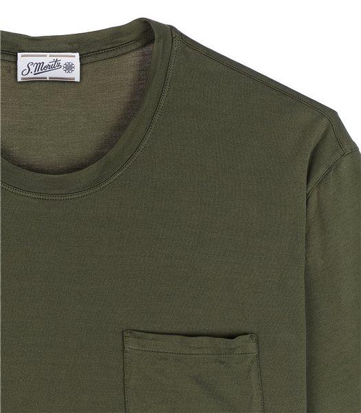 t-shirt-uomo-con-tasca-manica-corta-cotone-bosco