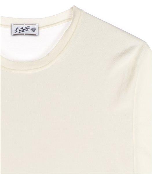t-shirt-uomo-manica-corta-cotone-crepe-panna