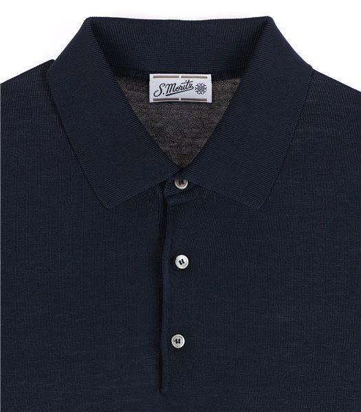 maglia-polo-uomo-manica-corta-cotone-crepe-blu