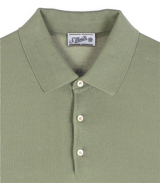 maglia-polo-uomo-manica-corta-cotone-crepe-salvia
