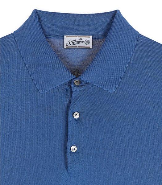 maglia-polo-uomo-manica-corta-cotone-crepe-azzurro