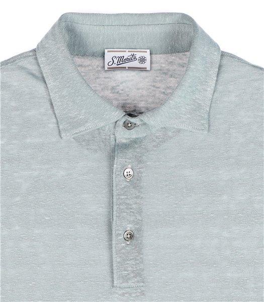 maglia-polo-uomo-manica-corta-lino-grigio