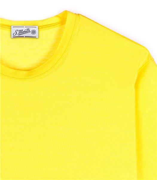 t-shirt-uomo-manica-corta-cotone-rosso