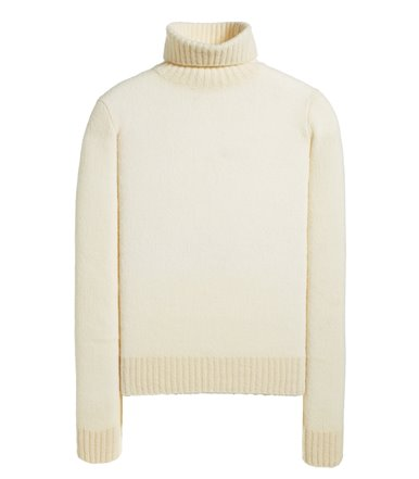 TURTLENECK LONG SLEEVE BOUCLE' / BRUSHED