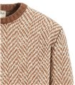 CREWNECK SWEATER LONG SLEEVE BOUCLE'/BRUSHED