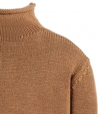 MOCKNECK COLLAR SWEATER LONG SLEEVE