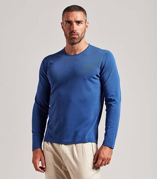 T-shirt cotone manica lunga